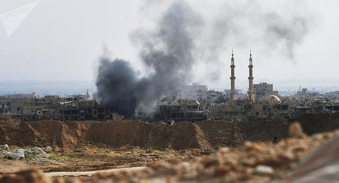 Liên quân Mỹ không kích phá hủy bệnh viện trong vùng IS kiểm soát
