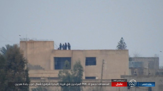 IS tiêu diệt và làm bị thương 15 chiến binh SDF tại Hajin ảnh 1