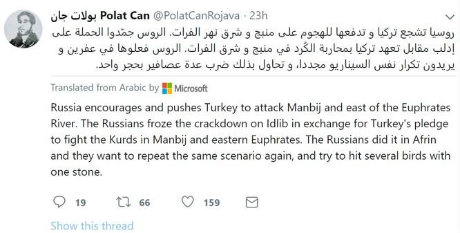 Người Kurd cáo buộc Nga ủng hộ Thổ Nhĩ Kỳ tấn công đông bắc Syria ảnh 1