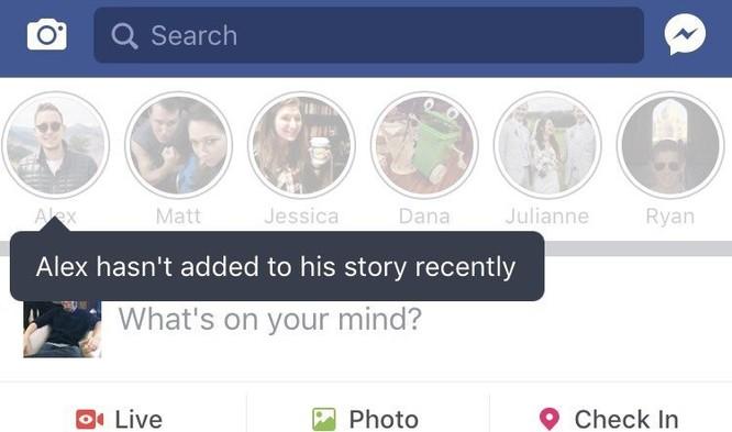 Facebook đã bắt chước Snapchat như thế nào? ảnh 7