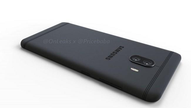 Rò rỉ hình ảnh đồ họa Samsung Galaxy C10 với camera kép ảnh 1