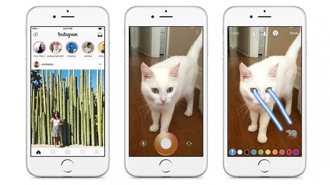 Facebook đã bắt chước Snapchat như thế nào? ảnh 3
