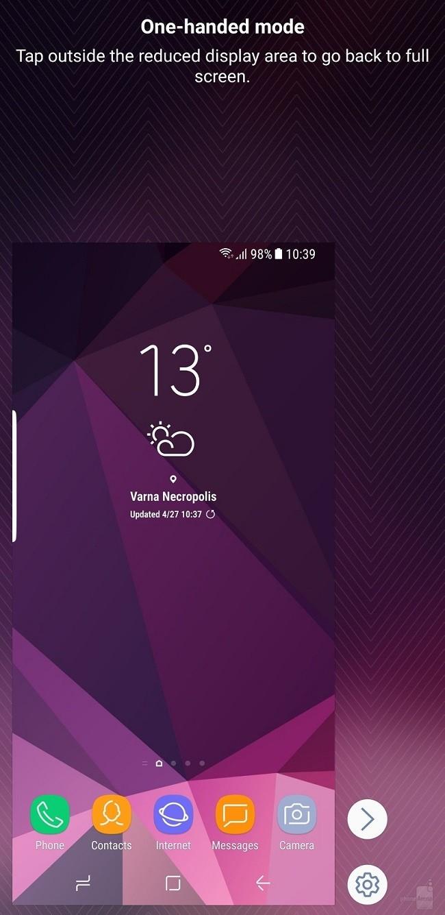 Cách bật chế độ một tay ở Samsung Galaxy S8/S8 Plus ảnh 3