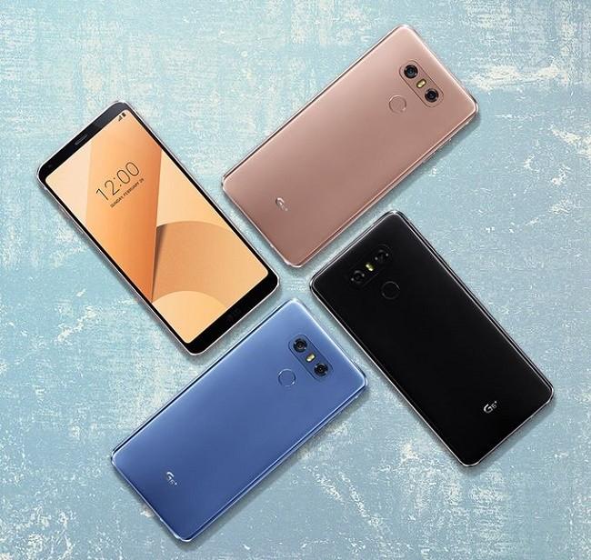 LG cho ra mắt G6 Plus với dung lượng 128 GB và màu vỏ mới ảnh 1