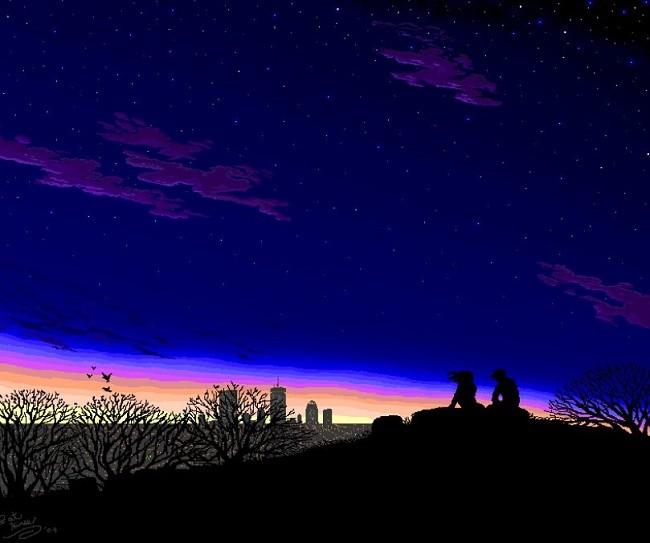 Các tác phẩm nghệ thuật tuyệt đẹp được tạo từ Microsoft Paint ảnh 7