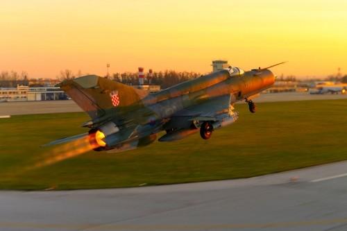 Mig-21 của Croatia