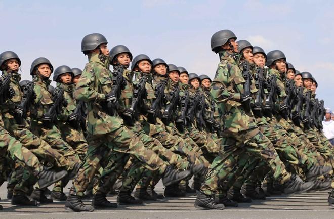 Bộ đội Hải quân đánh bộ của Việt Nam (ảnh tư liệu minh hoạ)