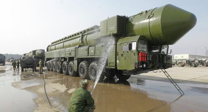 Tên lửa đạn đạo của Nga.