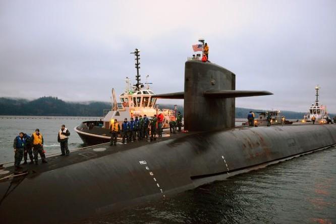 Tàu ngầm hạt nhân Mỹ.