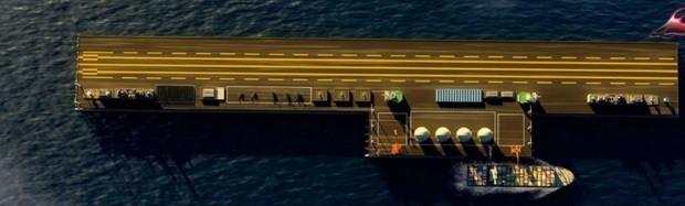 Kết cấu nổi hạt nhân khổng lồ mà Trung Quốc đang tham vọng triển khai phi pháp ở Biển Đông