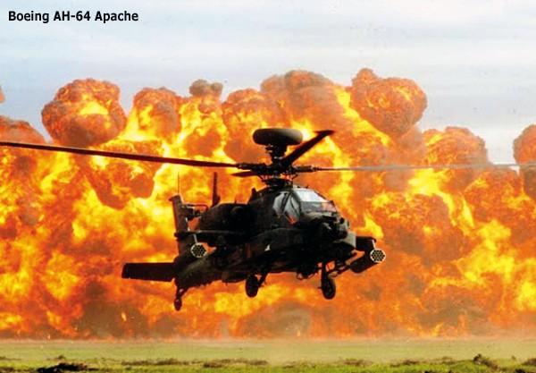 Cảnh tượng trực thăng AH-64D Apache ồ ạt xuất kích ảnh 1