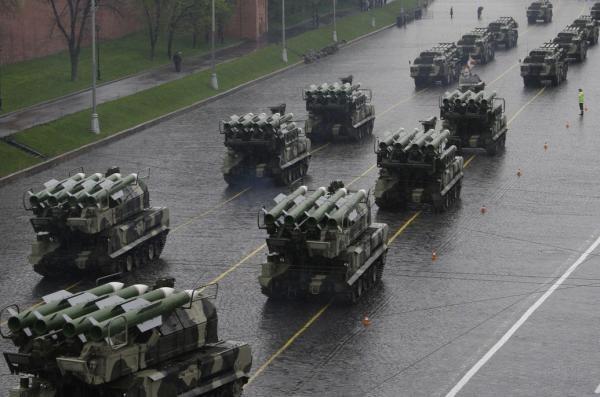 Tên lửa phòng không Buk của quân đội Nga