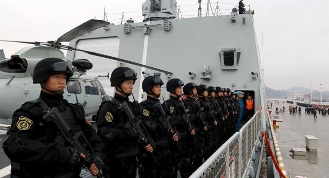 Binh sỹ hải quân PLA.