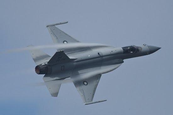 Máy bay chiến đấu hạng nhẹ JF-17 Thunder của Quân đội Pakistan.