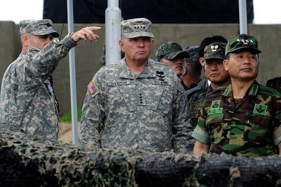 Quân đội Mỹ - Hàn Quốc.