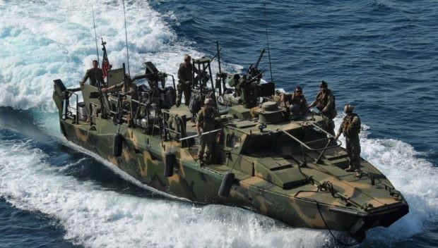 Tàu chiến cao tốc của quân đội Mỹ.