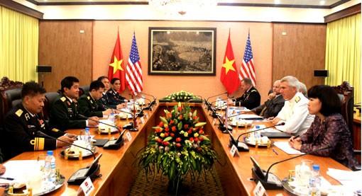 Quan hệ hợp tác quốc phòng Việt - Mỹ.