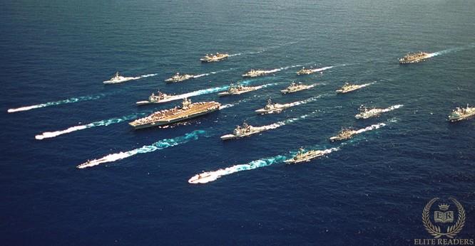 Sức mạnh các hạm đội của Hải quân Hoa Kỳ.