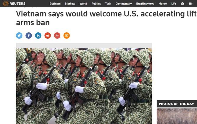 Bản tin của Reuters.