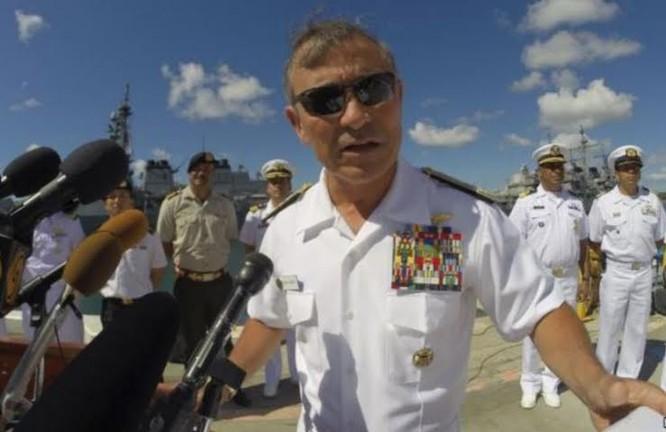 Đô đốc Harry Harris, Tư lệnh Bộ Tư lệnh Thái Bình Dương.