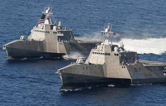 Chiến hạm tác chiến ven bờ của Hải quân Mỹ (ảnh minh họa)