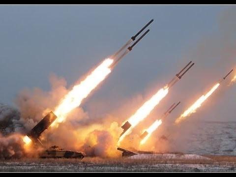 Sức mạnh pháo binh Nga.
