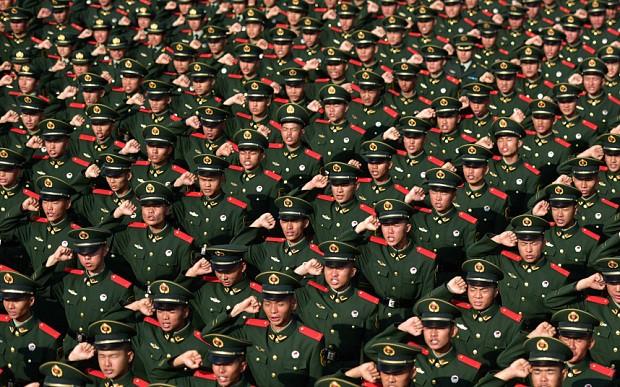 Lực lượng vũ trang của Trung Quốc.