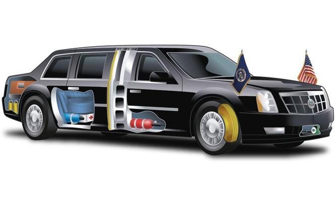 Xe limousine của Tổng thống Mỹ dùng làm gì sau khi nghỉ hưu? ảnh 1