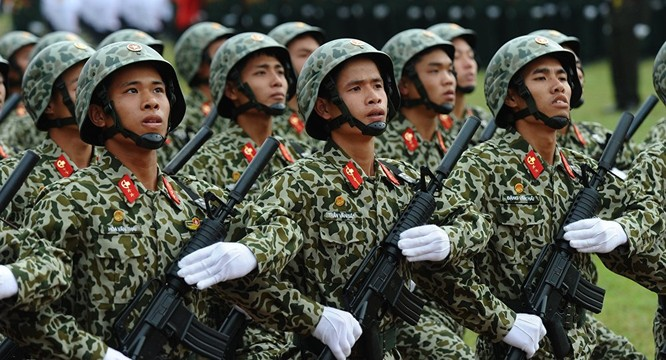 Bộ đội đặc công của Việt Nam.