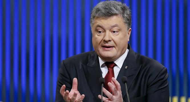Tổng thống Poroshenko.