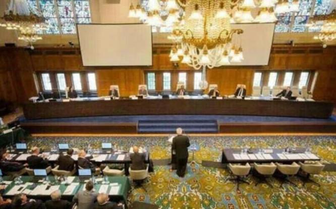Trung Quốc sắp phải đối mặt với phán quyết của Tòa trọng tài thường trực Liên hợp quốc về vụ kiện Biển Đông của Philippines cùng các tác động quốc tế to lớn của nó. Nguồn ảnh: Sina Trung Quốc.