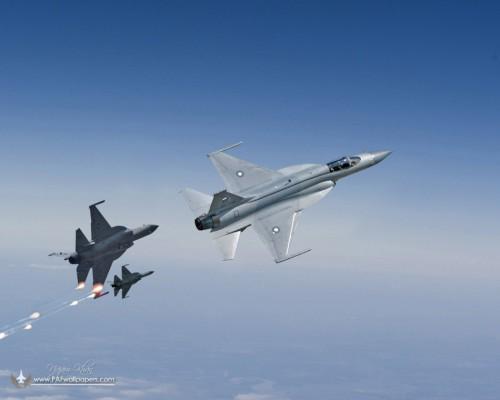 Máy bay chiến đấu hạng nhẹ JF-17 Thunder/FC-1 Kiêu Long.