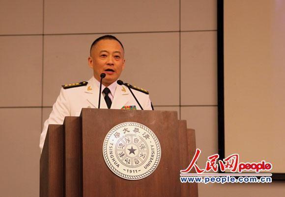 Ngày 23/4/2015, Trương Tranh phát biểu tại Đại học Thanh Hoa, Trung Quốc. Nguồn ảnh: Báo Nhân Dân Trung Quốc.