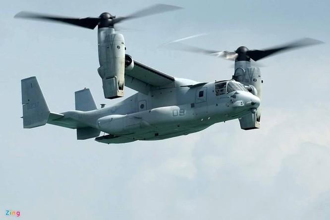 Mục kích dàn phi cơ Mỹ phục vụ phái đoàn Obama tại sân bay Tân Sơn Nhất ảnh 1