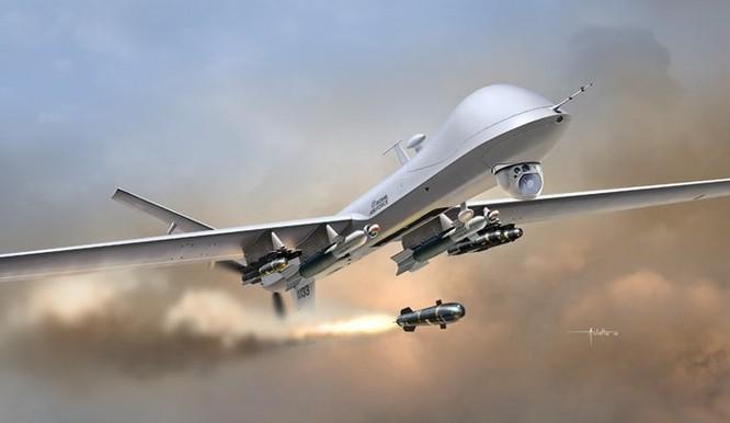 Máy bay không người lái MQ-9 Reaper Mỹ.