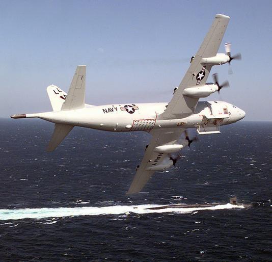 Máy bay tuần tra săn ngầm P-8A Poseidon Mỹ.