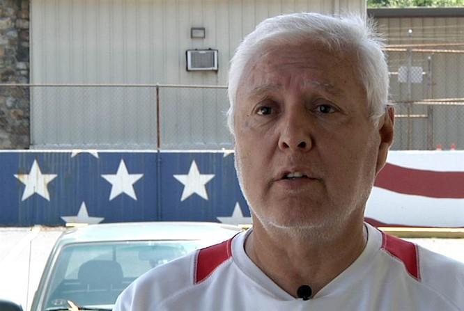 Ông Ned Foote, Chủ tịch Hội Cựu chiến binh Việt Nam tại New York (ảnh: Newstalk)
