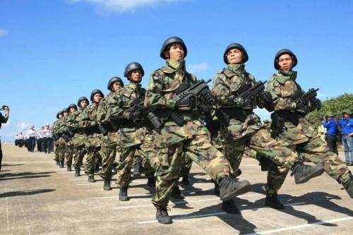 Hải quân đánh bộ Việt Nam tham gia duyệt binh ở Cam Ranh (ảnh minh họa)