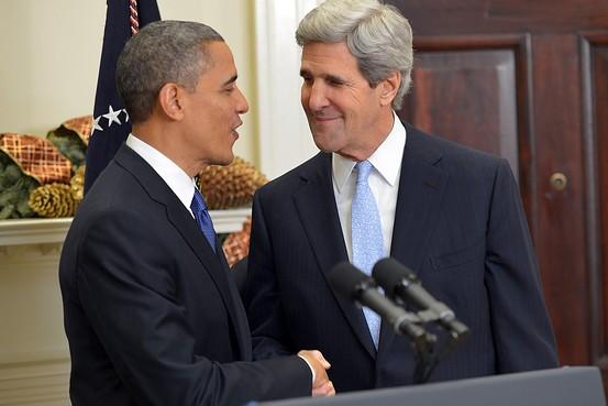 Tổng thống Hoa kỳ Barack Obama và Ngoại trưởng John Kerry.