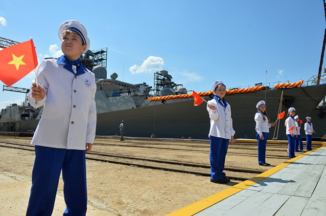 """Nga đã hạ thủy tàu khinh hạm """"Gepard 3.9"""" thứ tư cho Hải quân Việt Nam ảnh 2"""