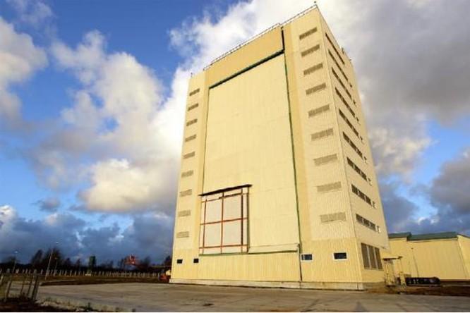 Radar Voronezh DM ở Kaliningrad, Nga. Nguồn ảnh: Tin tức Bành Bái, Trung Quốc.