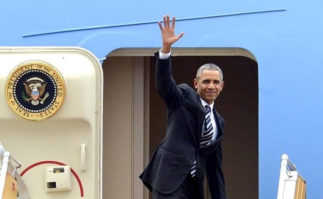 Tổng thống Mỹ Barack Obama kết thúc chuyến thăm chính thức, lịch sử đến Việt Nam chiều 25/5/2016.