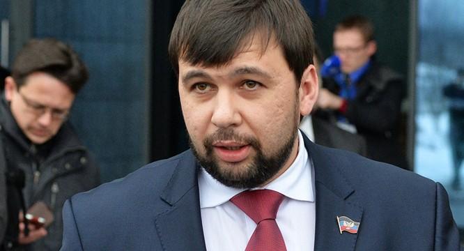 Ông Denis Pushilin.