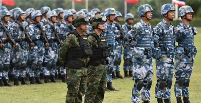 Trung Quốc và Thái Lan tổ chức diễn tập hải quân đánh bộ