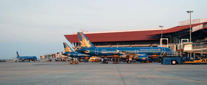 Sân bay Nội Bài.