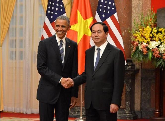 Tổng thống Mỹ Barack Obama vừa có chuyến thăm 3 ngày đối với Việt Nam. Nguồn ảnh: Tân Hoa xã.