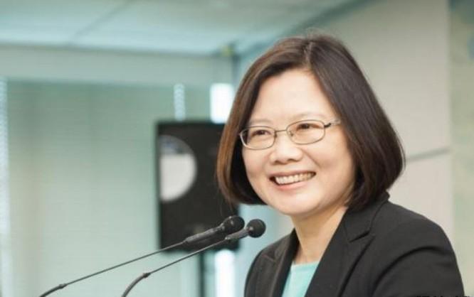 Nhà lãnh đạo mới đắc cử Đài Loan, bà Thái Anh Văn. Nguồn ảnh: VOA.