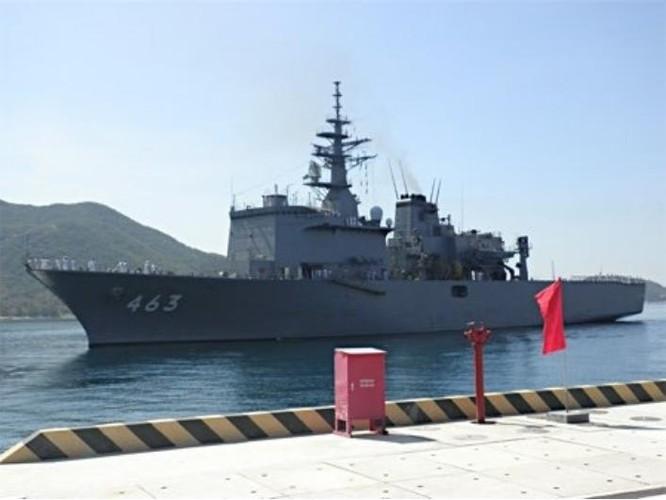 Tàu quét mìn JS Uraga Nhật Bản. Nguồn ảnh: worddailynewsreport.