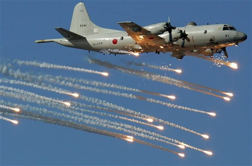 - Máy bay tuần tra săn ngầm P-3C Orion Hải quân Mỹ