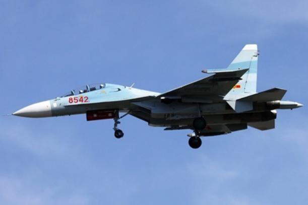 Máy bay chiến đấu Su-30MK2 hiện có của Không quân Việt Nam.